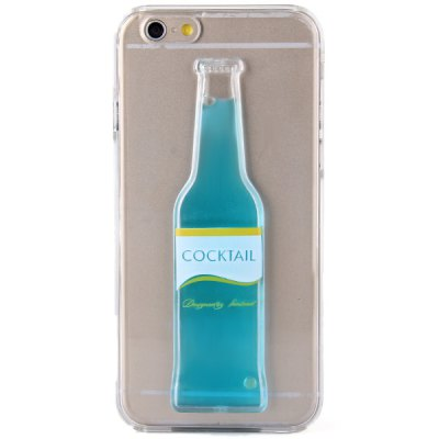 ФОТО Bottle Design Transparent PC Material Back Case for iPhone 6  -  4.7 inches