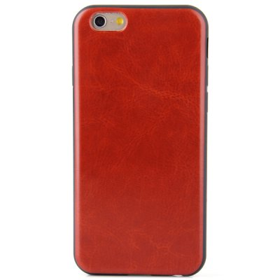 Fashionable TPU and PU Back Cover Case for iPhone 6  -  4.7 inchesiPhone Cases/Covers<br>Fashionable TPU and PU Back Cover Case for iPhone 6  -  4.7 inches<br><br>Compatible for Apple: iPhone 6<br>Features: Back Cover<br>Material: PU Leather, TPU<br>Style: Special Design<br>Color: Pink, Red, Blue, Rose, Black, Brown, White<br>Product weight : 0.025 kg<br>Package weight : 0.045 kg<br>Product size (L x W x H): 14 x 6.9 x 1 cm / 6.3 x 2.7 x 0.4 inches<br>Package contents: 1 x Case