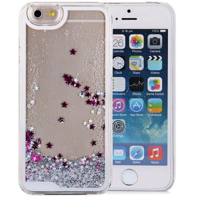 Hourglass Design Transparent PC Material Back Case for iPhone 6  -  4.7 inches