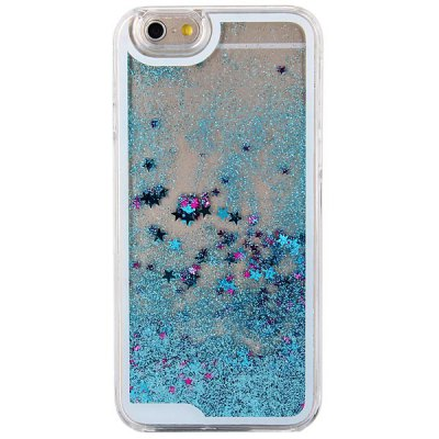 ФОТО Hourglass Design Transparent PC Material Back Case for iPhone 6  -  4.7 inches