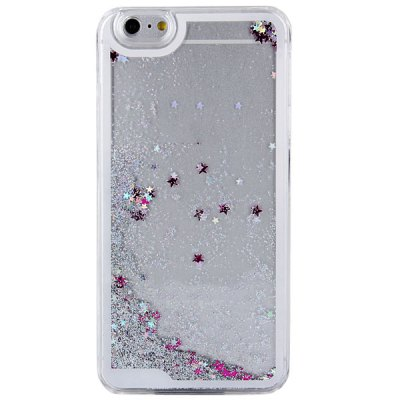 ФОТО Hourglass Design Transparent PC Material Back Case for iPhone 6 Plus  -  5.5 inches