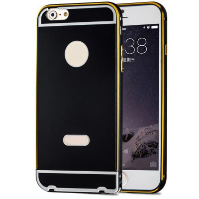 ФОТО Fabitoo Frame Style Aluminium Alloy Bumper with PC Back Case for iPhone 6  -  4.7 inches