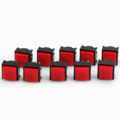 10Pcs DC 12V 50mA Practical Square Shape 2Pin Push Button Switch Switches for Electronic DIYDIY Parts &amp; Components<br>10Pcs DC 12V 50mA Practical Square Shape 2Pin Push Button Switch Switches for Electronic DIY<br><br>Material: Plastic + copper<br>Product Weight: 9 g<br>Package Weight: 0.05 kg<br>Product Size(L x W x H): 1.3 x 1.2 x 1.2 cm / 0.51 x 0.47 x 0.47 inches<br>Package Size(L x W x H): 9.5 x 7.0 x 2.0 cm / 3.73 x 2.75 x 0.79 inches<br>Package Contents: 10 x DIY DC 12V 50mA Square Shape 2Pin Push Button Switches