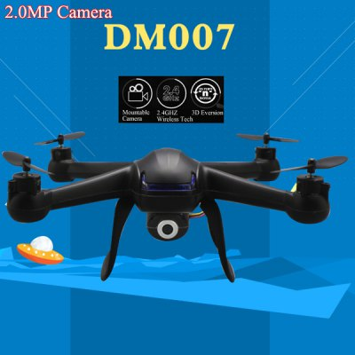 DM007 2.4G 4CH Explorer LCD RC Quadcopter