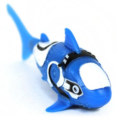 Funny electric shark toy battery control swimming robot for Robot fish toy