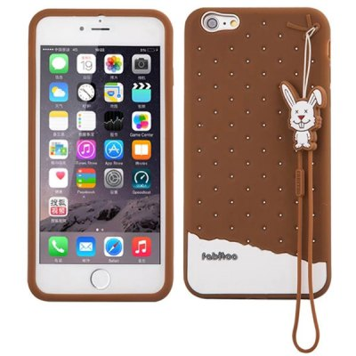 Fabitoo Silicone Back Cover Case for iPhone 6 Plus - 5.5 inches