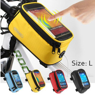 Roswheel Touch Screen Bicycle Phone 5.5 inch Saddle Bag Holder