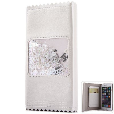 Гаджет   Fashionable Card Holder Design PC and PU Cover Case for iPhone 6  -  4.7 inches iPhone Cases/Covers