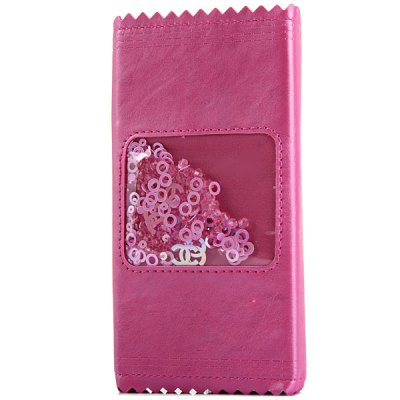 Гаджет   Fashionable Card Holder Design PC and PU Cover Case for iPhone 6  -  4.7 inches