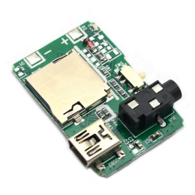 Multifunctional MP3 Audio Decoder Board for Learners to DIY