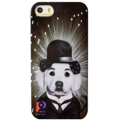 Гаджет   Classic 4 inch Phone Cover Protector Star Pop Dog Style Case Skin for iPhone 5 / 5S