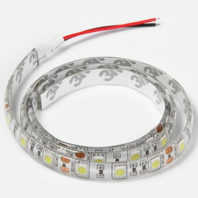 Гаджет   14W 0.7M 42 x SMD 5050 12V Water - resistant Flexible LED Strip Ribbon Light  -  Pure White LED Strips