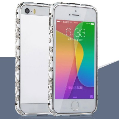Гаджет   Fabitoo Frame Style Aluminium Alloy Diamante Bumper Case for iPhone 5 5S iPhone Cases/Covers