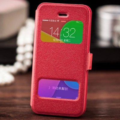Fabitoo Magnetic Snap Design PU and TPU Material Cover Case for iPhone 5 5S