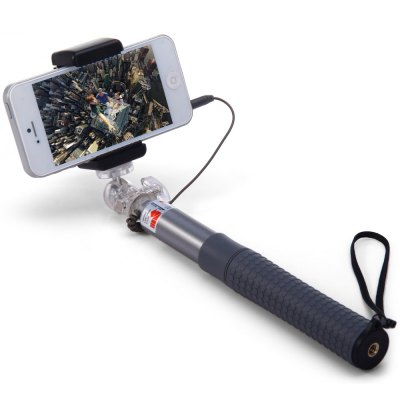 Здесь можно купить   RK90E 3.5mm Jack Cable Connect RC Self Timer Stretch Monopod Camera Shutter with Clip Stand