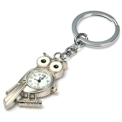 MX Novel Owl Design Quartz Pocket Watch with Key Chain Round Dial Collection GiftPocket Watches<br>MX Novel Owl Design Quartz Pocket Watch with Key Chain Round Dial Collection Gift<br><br>Watches categories: Pocket watch<br>Watch style: Lovely<br>Available Color: Silver<br>Movement type: Quartz watch<br>Display type: Analog<br>Case material: Alloys<br>Band material: Alloys<br>The dial thickness: 0.7 cm / 0.3 inches<br>The dial diameter: 2.0 cm / 0.8 inches<br>Product weight: 28 g<br>Package weight: 0.078 kg<br>Product size (L x W x H) : 11 x 3.3 x 0.7 cm / 4.32 x 1.30 x 0.28 inches<br>Package size (L x W x H): 15 x 6 x 2 cm / 5.90 x 2.36 x 0.79 inches<br>Package contents: 1 x Pocket Watch
