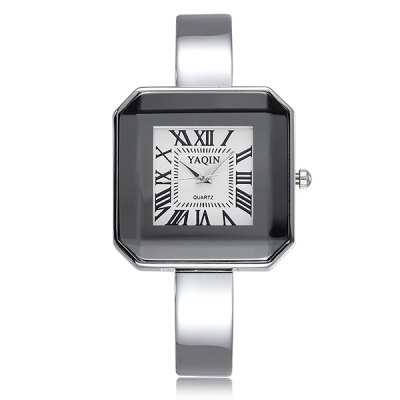 Гаджет   YaQin Japan Quartz Watch Bracelet Alloy Body Rectangel Dial for Ladies Women Women