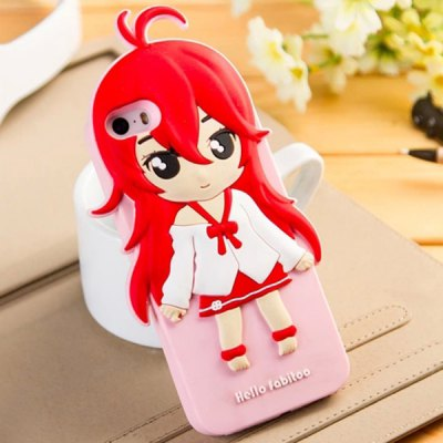 Fabitoo Bow - tie Girl Pattern Silicone Back Cover Case for iPhone 5 5SiPhone Cases/Covers<br>Fabitoo Bow - tie Girl Pattern Silicone Back Cover Case for iPhone 5 5S<br><br>Compatible for Apple: iPhone 5/5S<br>Features: Back Cover<br>Material: Silicone<br>Style: Cartoon<br>Color: Pink, off-white<br>Product weight : 0.045 kg<br>Package weight : 0.090 kg<br>Product size (L x W x H): 13 x 6.7 x 1.2 cm / 5.11 x 2.63 x 0.47 inches<br>Package size (L x W x H) : 20 x 10 x 2 cm / 7.86 x 3.93 x 0.79 inches<br>Package contents: 1 x Case