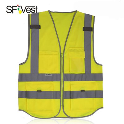 SFvest Traffic Guidance Reflective Vest Waistcoat Warning Safety Dustman Guard Necessary от GearBest.com INT