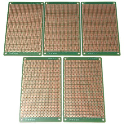 M0063 Practical Prototype Printed Electrical Bakelite Circuit Board for DIY Project  -  5PCS