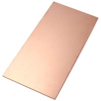 2Pcs Practical Single Sided Copper Clad Bakelite Board for Learners to DIY