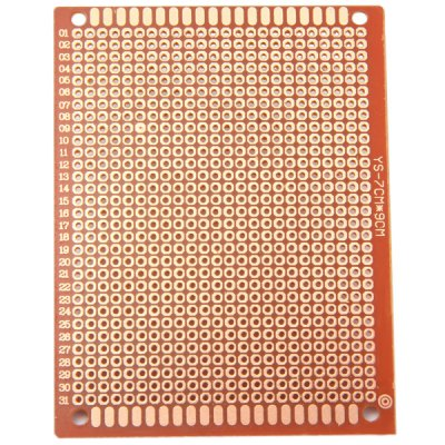 Гаджет   7 x 9cm Universal Prototype Printed Electrical Bakelite Circuit Board Breadboard for Electronic DIY  -  10PCS Other Accessories