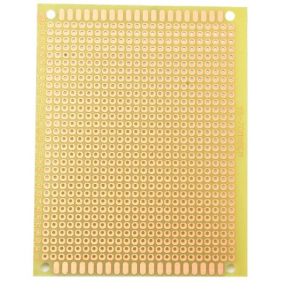 Practical 7 x 9cm Universal Glass Fiber Prototyping PCB Board for Learners to DIY  -  5PCS