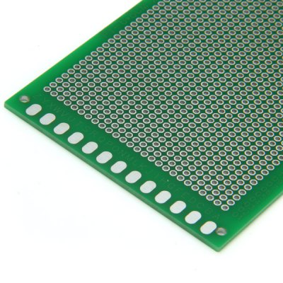 Фотография Practical 6 x 8cm Double Sided Glass Fiber Green Oil Board for Learners to DIY