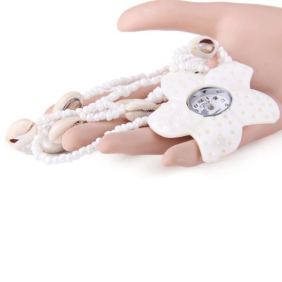 Practical Flower Shape Female Pocket Quartz Watch for Party Daily SuppliesWomens Watches<br>Practical Flower Shape Female Pocket Quartz Watch for Party Daily Supplies<br><br>Watches categories: Pocket watch<br>Watch style: Fashion<br>Available Color: White<br>Movement type: Quartz watch<br>Display type: Analog<br>Case material: Other<br>Band material: The other<br>The dial thickness: 1cm<br>The dial diameter: 3cm<br>Product weight: 0.056 kg<br>Package weight: 0.120 kg<br>Product size (L x W x H) : 43 x 7 x 1.3 cm / 16.90 x 2.75 x 0.51 inches<br>Package size (L x W x H): 44 x 8 x 2.3 cm / 17.29 x 3.14 x 0.90 inches<br>Package contents: 1 x Watch