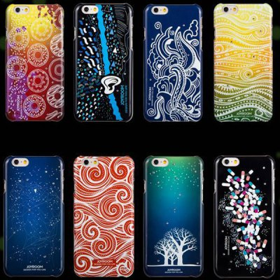 Joyroom Circle Pattern PC Material Fluorescent Back Case for iPhone 6  -  4.7 inches - JoyroomiPhone Cases/Covers<br>Joyroom Circle Pattern PC Material Fluorescent Back Case for iPhone 6  -  4.7 inches<br><br>Brand: Joyroom<br>Compatible for Apple: iPhone 6<br>Features: Back Cover<br>Material: Plastic<br>Style: Pattern<br>Product weight : 0.020 kg<br>Package weight : 0.060 kg<br>Product size (L x W x H): 14 x 7 x 1 cm / 5.50 x 2.75 x 0.39 inches<br>Package size (L x W x H) : 16 x 9 x 2 cm / 6.29 x 3.54 x 0.79 inches<br>Package contents: 1 x Case