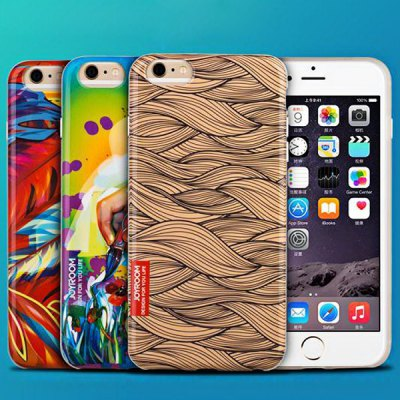 ФОТО Joyroom Feather Pattern TPU Material Back Case for iPhone 6  -  4.7 inches