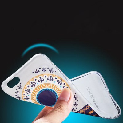 ФОТО Joyroom Sunflower Pattern TPU Material Back Case for iPhone 6 Plus  -  5.5 inches