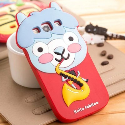 Гаджет   Fabitoo 3D Cartoon Panda Cow Sheep Phone Case Silicone Cover for Samsung S3 i9300 Samsung Cases/Covers