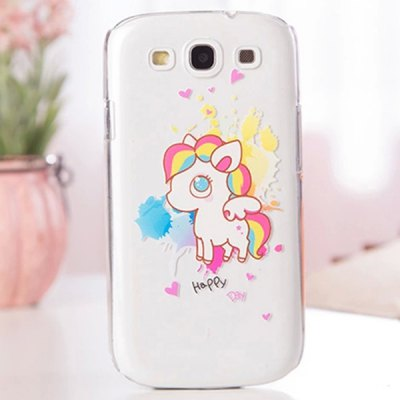 ФОТО Fabitoo Cartoon Painting Phone Back Cover Plastic Case for Samsung S3 i9300