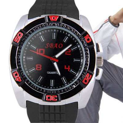 Здесь можно купить   S - 495 Bright Color Sports Watch with Rubber Band Large Dial