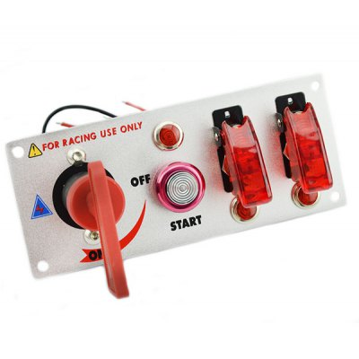 DC 12V High Performance Renovation Engine Start Button Combination Switch for Racing Sport
