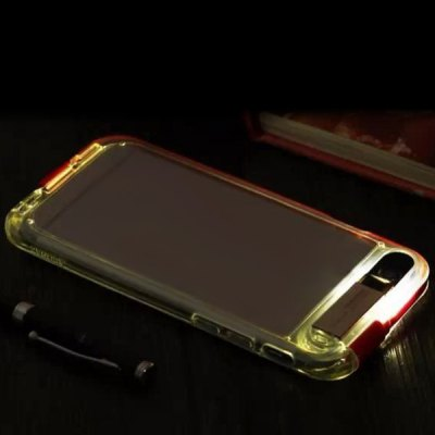 Фотография Built - in 8 Pin Cable and USB 2.0 Connector Transparent PC and TPU Back Case for iPhone 6  -  4.7 inches