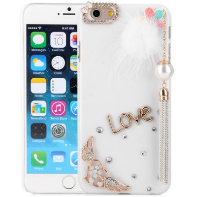 Гаджет   Pendant Design Diamante PC Material Back Case for iPhone 6  -  4.7 inches