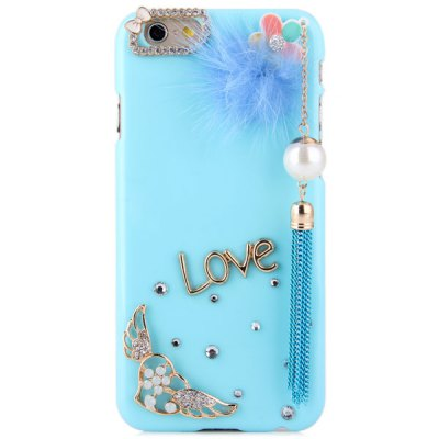 ФОТО Pendant Design Diamante PC Material Back Case for iPhone 6  -  4.7 inches