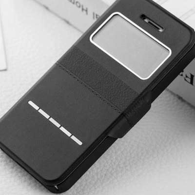 Гаджет   Joyroom Sliding Answer Contrast Color PU and PC Cover Case for iPhone 5 5S iPhone Cases/Covers