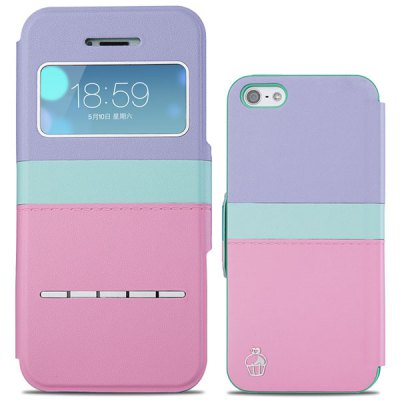 Joyroom Sliding Answer Contrast Color PU and PC Cover Case for iPhone 5 5SiPhone Cases/Covers<br>Joyroom Sliding Answer Contrast Color PU and PC Cover Case for iPhone 5 5S<br><br>Brand: Joyroom<br>Compatible for Apple: iPhone 5/5S<br>Features: With View Window<br>Material: PU Leather, Plastic<br>Style: Contrast Color<br>Color: Multi-Color, Yellow, Black, Blue, Pink, off-white<br>Product weight : 0.045 kg<br>Package weight : 0.085 kg<br>Product size (L x W x H): 12.5 x 6 x 1 cm / 4.91 x 2.36 x 0.39 inches<br>Package size (L x W x H) : 16 x 8 x 2 cm / 6.29 x 3.14 x 0.79 inches<br>Package contents: 1 x Case