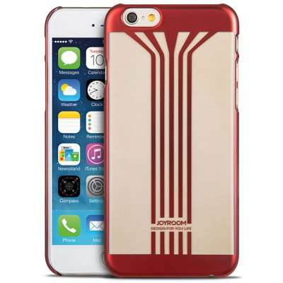 Joyroom Stripe Pattern PC Material Ultrathin Back Case for iPhone 6  -  4.7 inches - JoyroomiPhone Cases/Covers<br>Joyroom Stripe Pattern PC Material Ultrathin Back Case for iPhone 6  -  4.7 inches<br><br>Brand: Joyroom<br>Compatible for Apple: iPhone 6<br>Features: Back Cover<br>Material: Plastic<br>Style: Pattern<br>Color: Red, Blue, Gold, Gray<br>Product weight : 0.020 kg<br>Package weight : 0.060 kg<br>Product size (L x W x H): 14 x 7 x 1 cm / 5.50 x 2.75 x 0.39 inches<br>Package size (L x W x H) : 16 x 9 x 2 cm / 6.29 x 3.54 x 0.79 inches<br>Package contents: 1 x Case