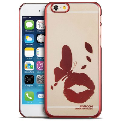 Гаджет   Joyroom Butterfly Kiss Pattern PC Material Ultrathin Back Case for iPhone 6  -  4.7 inches
