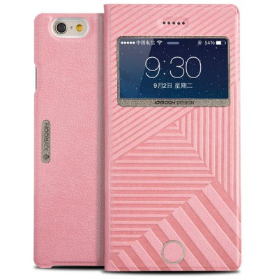 Joyroom Stripe Pattern PU and PC Material Cover Case for iPhone 6  -  4.7 inches