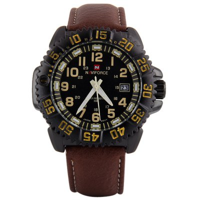 Фотография Naviforce 9041 Water Resistant Male Military Japan Quartz Watch