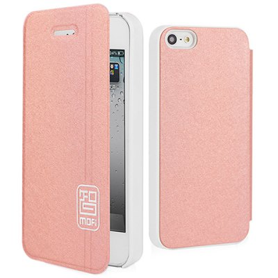 Mofi Ultrathin PU and PC Cover Case for iPhone 5 5SiPhone Cases/Covers<br>Mofi Ultrathin PU and PC Cover Case for iPhone 5 5S<br><br>Compatible for Apple: iPhone 5/5S<br>Features: Full Body Cases, Cases with Stand<br>Material: Plastic, PU Leather<br>Style: Novelty<br>Color: Green, Brown, Champagne gold, Black, Pink, Blue<br>Product weight : 0.050 kg<br>Package weight : 0.090 kg<br>Product size (L x W x H): 13 x 6.5 x 1.5 cm / 5.11 x 2.55 x 0.59 inches<br>Package size (L x W x H) : 22 x 11 x 2 cm / 8.65 x 4.32 x 0.79 inches<br>Package contents: 1 x Case