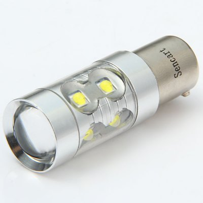 Sencart 1056 PY21W Bau15s 50W Cree XPE 10 LEDs 3100Lm 6500  -  7500K Turn Signal LampLED Light Bulbs<br>Sencart 1056 PY21W Bau15s 50W Cree XPE 10 LEDs 3100Lm 6500  -  7500K Turn Signal Lamp<br><br>Brand: Sencart<br>Type: Car Light<br>Car light type: Reversing lamp, Turn Signal Light<br>Connector: BAU15S(1056)<br>Lumens: 3100Lm<br>LED: 10 x Cree XPE LED<br>Color Temp: 6500-7500K<br>Available Light Color: Cold White<br>Wattage (W): 50<br>Voltage (V): DC 12-24V<br>Features: Low Power Consumption, High Output, Easy to use<br>Product weight: 0.016 kg<br>Package weight: 0.04 kg<br>Product size (L x W x H): 5.6 x 1.8 x 1.8 cm / 2.20 x 0.71 x 0.71 inches<br>Package size (L x W x H): 6 x 2 x 2 cm / 2.36 x 0.79 x 0.79 inches<br>Package Contents: 1 x Sencart 1056 Bau15s PY21W 50W 10 Cree XPE LEDs 3100Lm Car Bulb