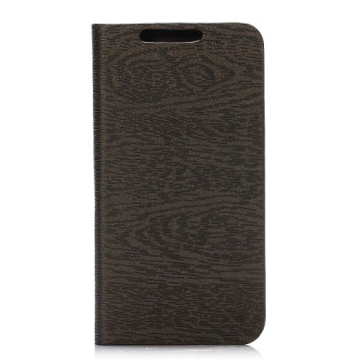 Гаджет   Wood Grain Pattern Phone Cover PU Case Skin with Stand Function for Samsung Galaxy S5 Mini Samsung Cases/Covers