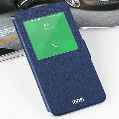 Mofi PU Cover Full Body Case Skin with Stand Function Window for Meizu MX4 Pro