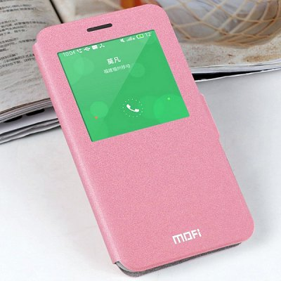 Mofi Phone Cover PU Case with Stand Function View Window for Meizu MX4 ProCases &amp; Leather<br>Mofi Phone Cover PU Case with Stand Function View Window for Meizu MX4 Pro<br><br>Compatible models: Meizu MX4 Pro<br>Features: Cases with Stand, With View Window, Full Body Cases<br>Material: PU Leather<br>Style: Modern, Novelty<br>Color: Pink, Blue, Gray, Cadetblue<br>Product weight: 0.060 kg<br>Package weight: 0.100 kg<br>Product size (L x W x H) : 15.5 x 8.3 x 1.3 cm / 6.09 x 3.26 x 0.51 inches<br>Package size (L x W x H): 20 x 16 x 2 cm / 7.86 x 6.29 x 0.79 inches<br>Package Contents: 1 x Case